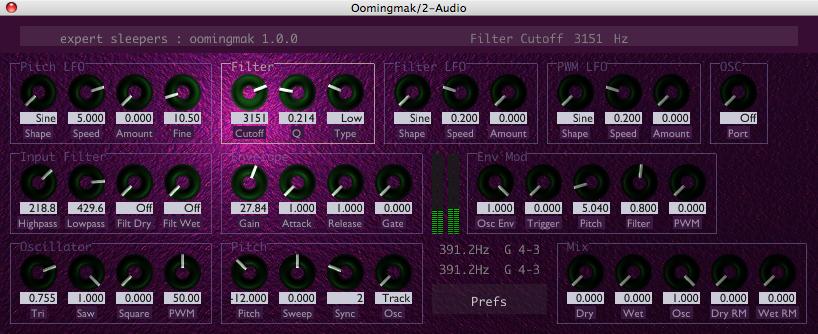 Oomingmak v1 0 0 released - new plug-in! | Expert Sleepers