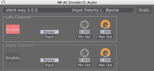 Silent Way Ac Encoder